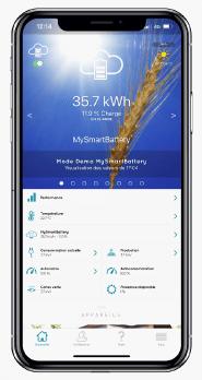 Gestion energie sur smartphone