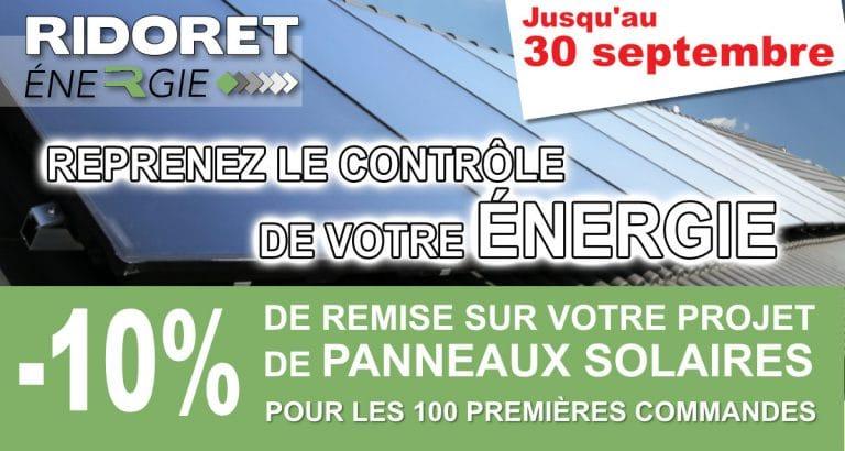 Promo installation panneaux solaire